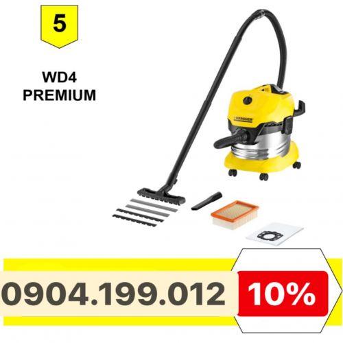 Máy hút bụi khô và nước Karcher WD4 Premium
